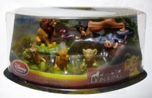 Figurine Play set/ LION KING /Disney Store Exclusive