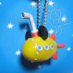 Keychain/Mickey Mouse Submarine (Tokyo Disney Sea /2001)
