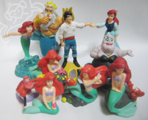 PVC Figurine/リトル・マーメイド(1989)by apllause