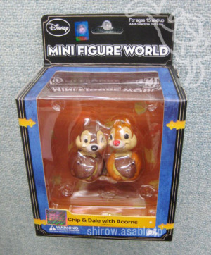 Disney MINI FIGURE WORLD / Chip & Dale with Acorns / by PLAY IMAGINATIVE