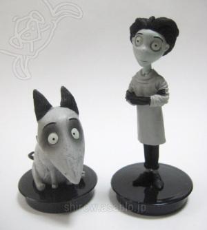 cup topper figurines/ Frankenweenie (2012)