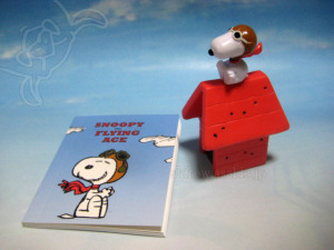 MEGA MINI KITS / (Peanuts) Snoopy The Flying Ace / from Running Press