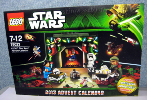 レゴ スター・ウォーズ アドベントカレンダー 75023