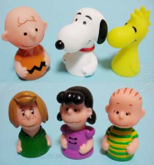 Finger Puppet / PEANUTS / The Art of PEANUTS Exclusive Item