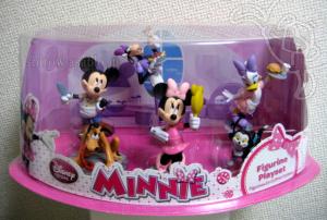 Disney Store Figurine PlaySet / Minnie / Package (Japan ver.)