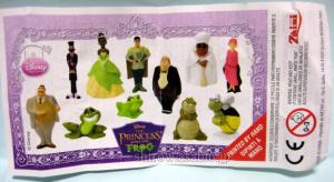 Zaini Chocolate Egg / Disney The Princess and the Frog / Zaini (Italy) /Paper