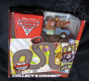 Disney Pixar CARS 2 - Mater Collect and Connect 24pc. Puzzle / Mattel
