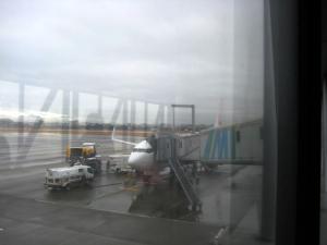 宮崎空港着