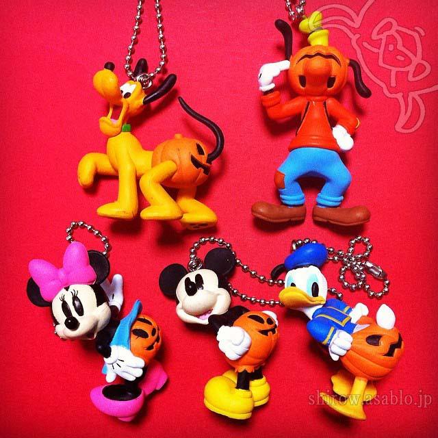 ディズニーハロウィンかぼちゃパンツマスコット(全5種タカラトミーアーツ)