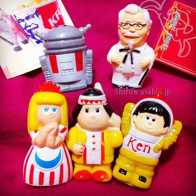 ケンタッキー・フライドチキン・キッズランドの仲間たち指人形(1986)